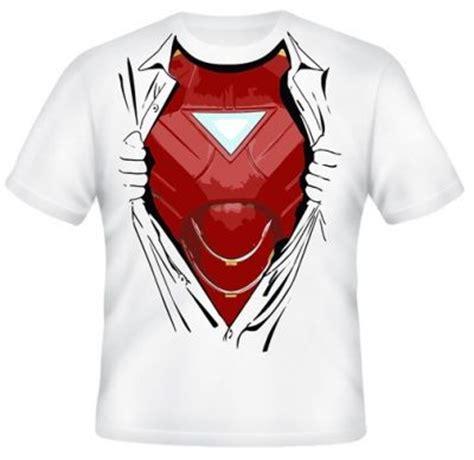 Kaos Ironman 8bit Ironman 1 kaos iron dalam baju kaos premium