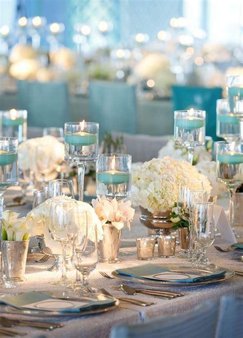 Tischdeko Hochzeit Hellblau by Hochzeitskerzen Romantische Warme Licht