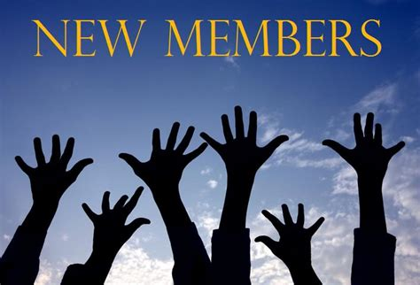 church forms for new members