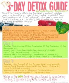 Dr Oz 3 Day Detox One Sheet by 1000 Images About Health On Lemon Detox