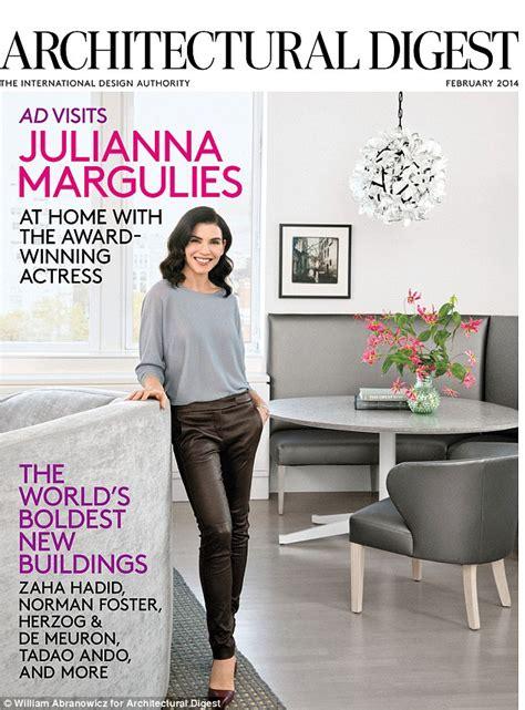 Manhattan Kitchen Design by Julianna Margulies Manhattan Apartment Floods Daily Mail