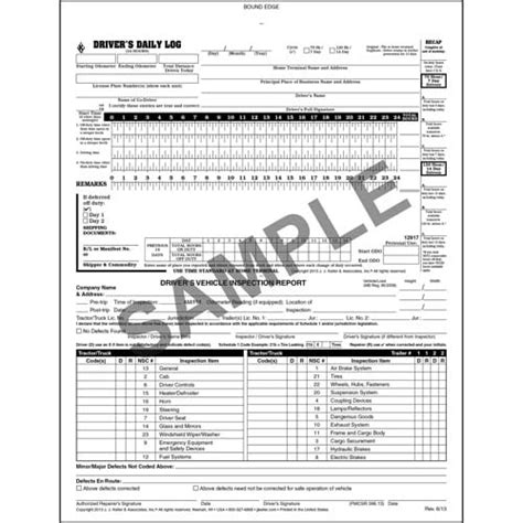 the log book getting 1856231577 canadian 2 in 1 driver s daily log book 2 ply carbonless