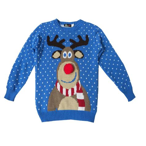 waitrose child christmas jumper childrens jumper boys retro vintage winter sweater ebay