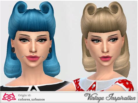 sims hair viphair downloads colores urbanos victory rolls 01