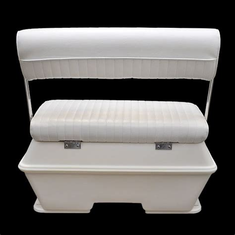 wise cooler seat installation wise 156 white 70 qt offshore swing back boat storage