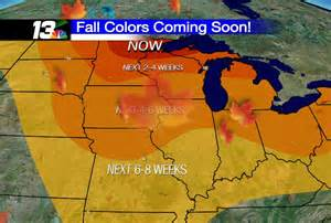 wisconsin color report fall foliage report