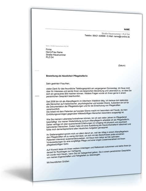 Musterbrief Bewerbung Pflegehelferin Beliebte Downloads Dokumente Deutschland 187 Dokumente Vorlagen