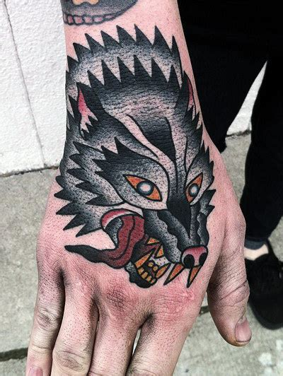 american traditional wolf tattoos 100 american traditional tattoos for school designs