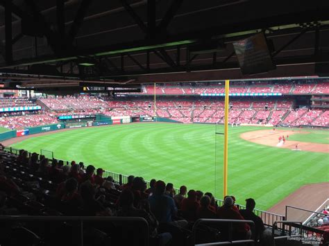 busch stadium section lp rateyourseatscom