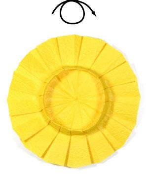 Origami Sunflower Step By Step - how to make an origami sunflower page 7