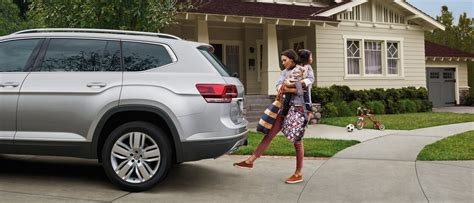 volkswagen atlas white interior the roomy interior of the three row 2018 volkswagen atlas suv