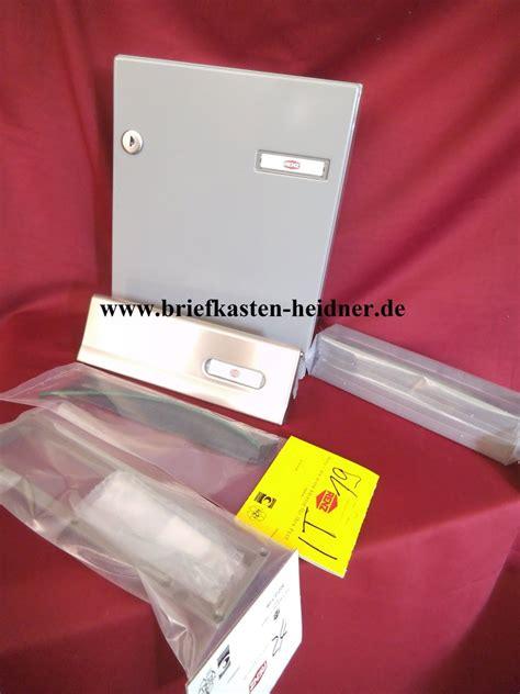 Heacting Set Renz 1 kah44 renz innent 252 r briefkasten komplettset 260 grau