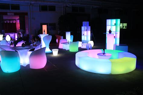 led furniture led bra counter led coffee table led ball led table