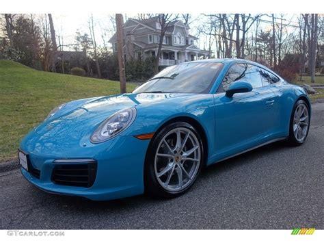 miami blue porsche 2017 miami blue porsche 911 4 coupe 118385768