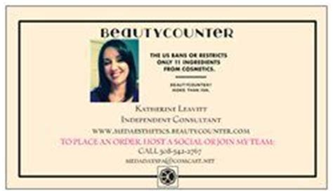 Beautycounter Business Cards