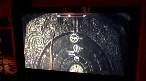 pattern to unlock door in skyrim how to open the door in the hall of stories on skyrim