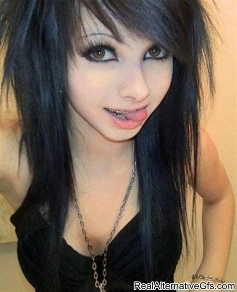 medium length emo hairemo black hair styles cute latest entertainment news cool hairstyles for girls with