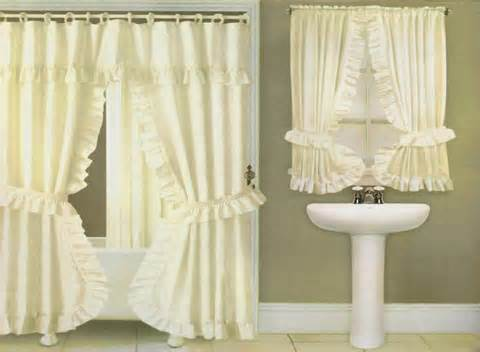 swag fabric shower curtain valance liner window