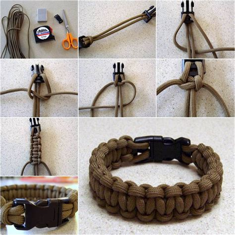 how to make paracord jewelry creative ideas diy paracord bracelet with side release
