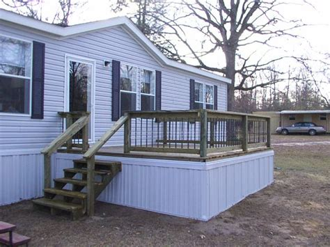 superb mobile home deck plans 11 mobile home decks