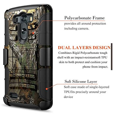 Rugged Armor Lg G3 Softhard Cover Heavy Duty Xphase lg g3 nagebee heavy duty armor shock proof dual layer import it all