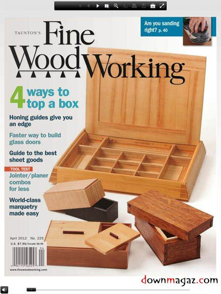 fine woodworking  march april