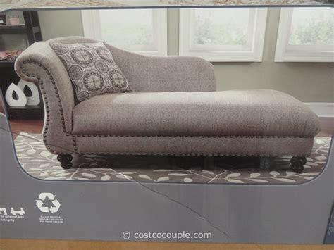 costco chaise costco chaise lounge emerald fabric chaise lounge