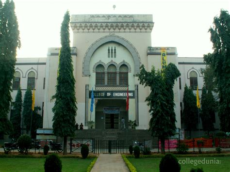 List Of Mba Colleges In Hyderabad Osmania by College Of Engineering Osmania