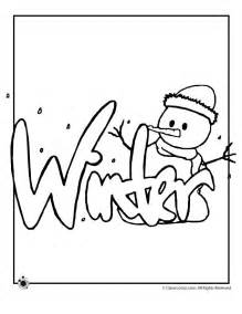 winter coloring page winter coloring pages images craft