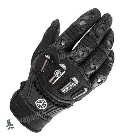 jual beli sarung tangan scoyco mx14 mx 14 hitam