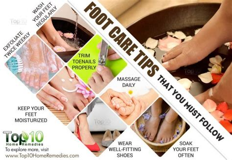 home care tips 10 foot care tips that you must follow top 10 home remedies