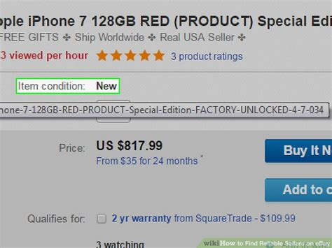 Search Ebay Seller By Email How To Find Reliable Sellers On Ebay 10 Steps With Pictures