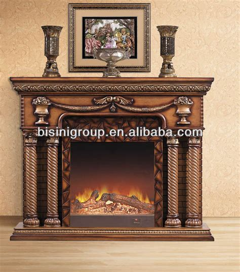 classical solid wood electric fireplace bf09 42078 buy