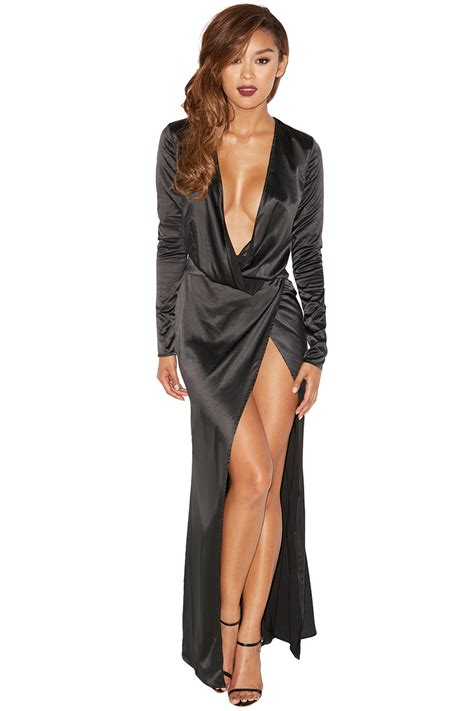 Ilonna Maxi clothing max dresses serafina black draped maxi dress