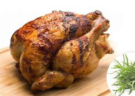 poulet r 244 ti au tourne broche