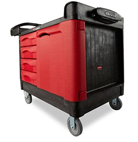 rubbermaid trademaster cart with cabinet rubbermaid trademaster cart with 4 drawer cabinet 24 quot x
