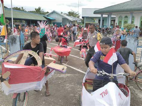 Lu Hias Untuk Masjid lomba sepeda hias dalam rangka hut kemerdekaan ri ke 72 di