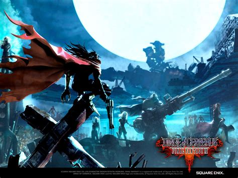 wallpaper animasi final fantasy final kingdom final fantasy vii dirge of cerberus