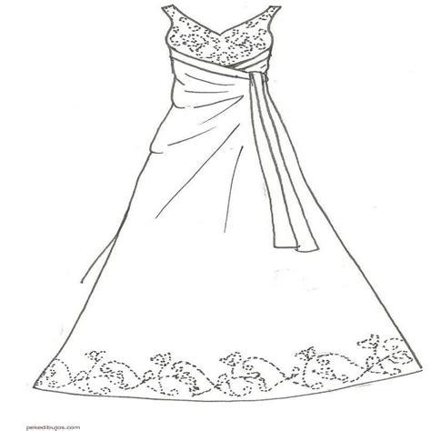 imagenes para colorear vestido dibujos de vestidos para colorear colorear website