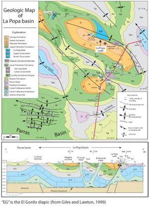 louisiana geologic map projects mexico
