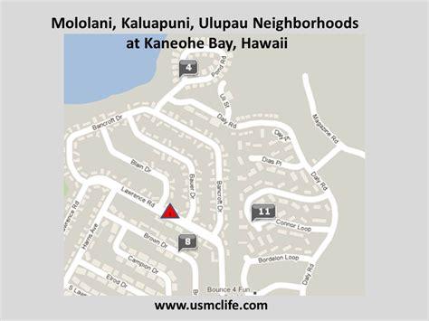 marine corps bases in the united states map mololani kaluapuni ulupau neighborhoods at kaneohe bay