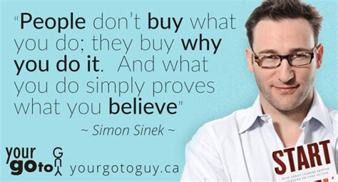 what do you have to do to buy a house people don t buy what you do simon sinek quote your go to guy