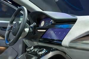 jaguar i pace concept interior screen motor trend