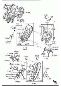 ua6h67991 automatic transmission transfer 4x4 mazda