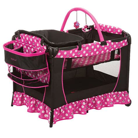 disney baby sweet playyard minnie mouse dot infant
