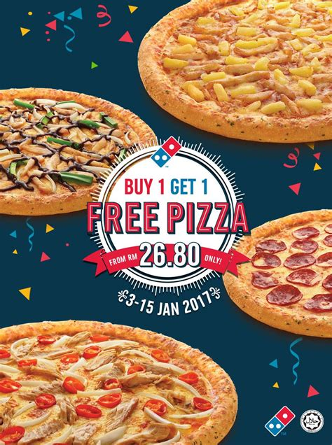 Free Domino S Gift Card 2017 - buy 1 get 1 free domino s pizza more promo