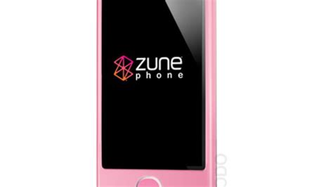 A More Pleasing Pink Zune by Rumored Hardware Specs For Microsoft Zune Phone