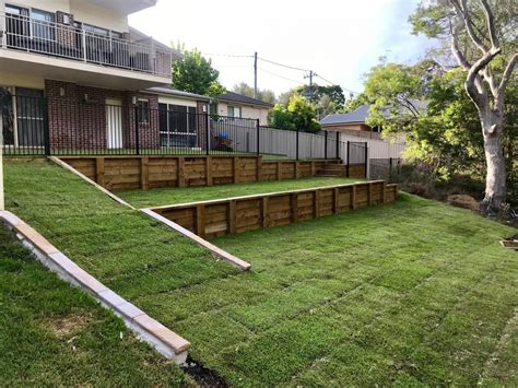 sloping backyard landscaping ideas sloping backyard landscaping ideas outdoor goods