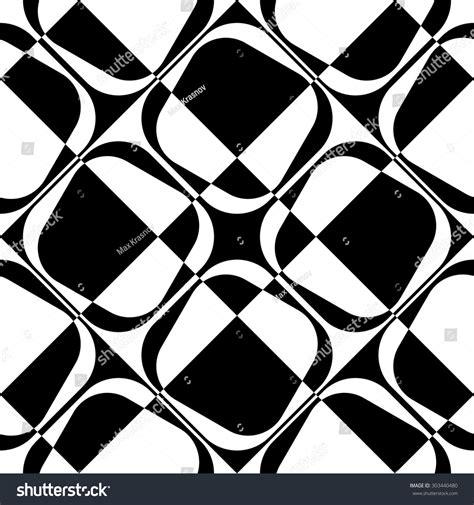 regular pattern texture seamless square pattern black white regular stock vector