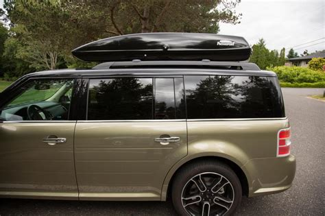 2010 Ford Flex Roof Rack by Installed Yakima Whispbar On Factory Roof Rails Page 5